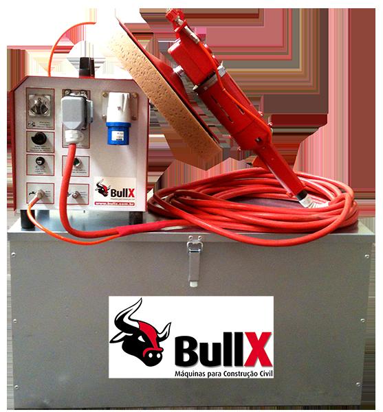 BullX desempenadeira eletrica máquina de reboco